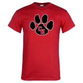 Red T Shirt-Paw