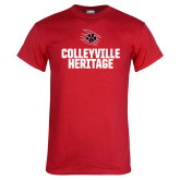 Red T Shirt-Colleyville Heritage Block