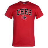 Red T Shirt-Arched CHHS