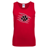 Red Tank Top-Primary Athletics Mark