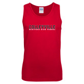 Red Tank Top-Wordmark