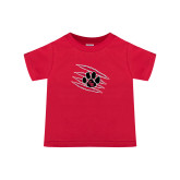 Toddler Red T Shirt-Primary Athletics Mark