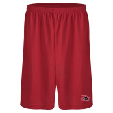Performance Classic Red 9 Inch Short-Primary Athletics Mark