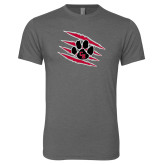 Next Level Premium Heather Tri Blend Crew-Primary Athletics Mark