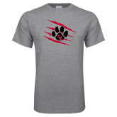 Grey T Shirt-Primary Athletics Mark