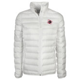 Columbia Lake 22 Ladies White Jacket-Primary Athletics Mark