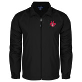 Full Zip Black Wind Jacket-Paw