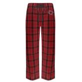 Red/Black Flannel Pajama Pant-Primary Athletics Mark