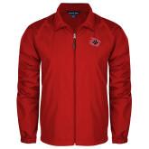 Full Zip Red Wind Jacket-Primary Athletics Mark