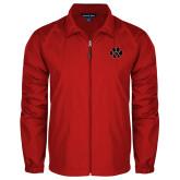 Full Zip Red Wind Jacket-Paw
