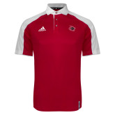 Adidas Modern Red Varsity Polo-Primary Athletics Mark