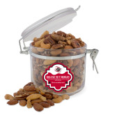 Deluxe Nut Medley Round Canister-Primary Athletics Mark