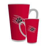 Full Color Latte Mug 17oz-Primary Athletics Mark