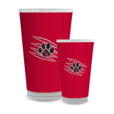 Full Color Glass 17oz-Primary Athletics Mark