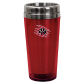 Solano Acrylic Red Tumbler 16oz-Primary Athletics Mark