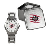 Mens Stainless Steel Fashion Watch-Primary Athletics Mark