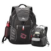 High Sierra Big Wig Black Compu Backpack-Primary Athletics Mark