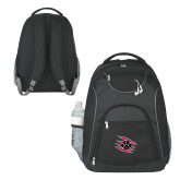 The Ultimate Black Computer Backpack-Primary Athletics Mark