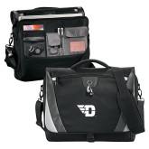 Slope Black/Grey Compu Messenger Bag-Flying D