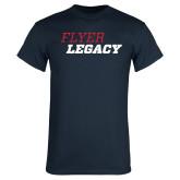 Navy T Shirt-Flyer Legacy