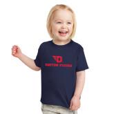 Toddler Navy T Shirt-Dayton Flyers