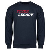 Navy Fleece Crew-Flyer Legacy