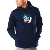 Under Armour Navy Armour Fleece Hoodie-Mascot