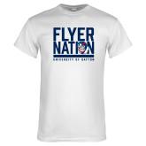 White T Shirt-Flyer Nation
