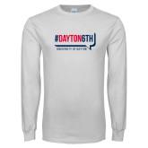 White Long Sleeve T Shirt-Dayton6th