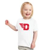 Toddler White T Shirt-Flying D