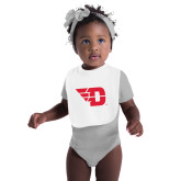 White Baby Bib-Flying D