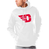 Under Armour White Armour Fleece Hoodie-Flying D