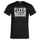 Black T Shirt-Flyer Nation