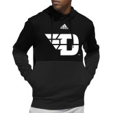 Adidas Black Team Issue Hoodie-Flying D
