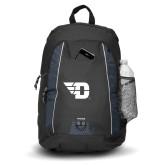 Impulse Black Backpack-Flying D