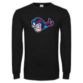 Black Long Sleeve T Shirt-Mascot Profile