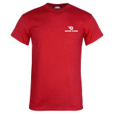 Red T Shirt-Dayton Flyers