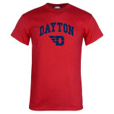 Red T Shirt-Arched Dayton