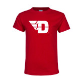 Youth Red T Shirt-Flying D