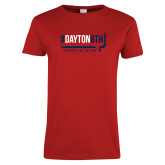 Ladies Red T Shirt-Dayton6th