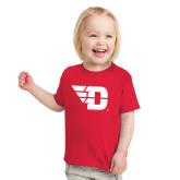 Toddler Red T Shirt-Flying D