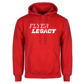 Red Fleece Hoodie-Flyer Legacy