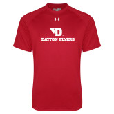 Under Armour Red Tech Tee-Dayton Flyers