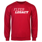 Red Fleece Crew-Flyer Legacy