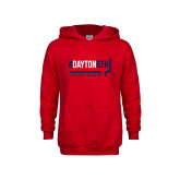 Youth Red Fleece Hoodie-Dayton6th