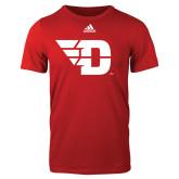 Adidas Red Logo T Shirt-Flying D