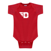 Red Infant Onesie-Flying D