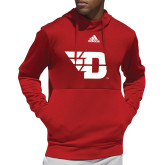 Adidas Red Team Issue Hoodie-Flying D
