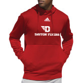 Adidas Red Team Issue Hoodie-Dayton Flyers