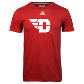 Adidas Climalite Red Ultimate Performance Tee-Flying D